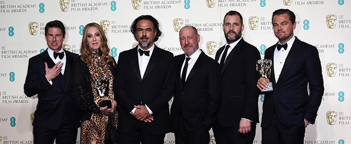 The Revenant and DiCaprio Are Winners at BAFTA Film Awards